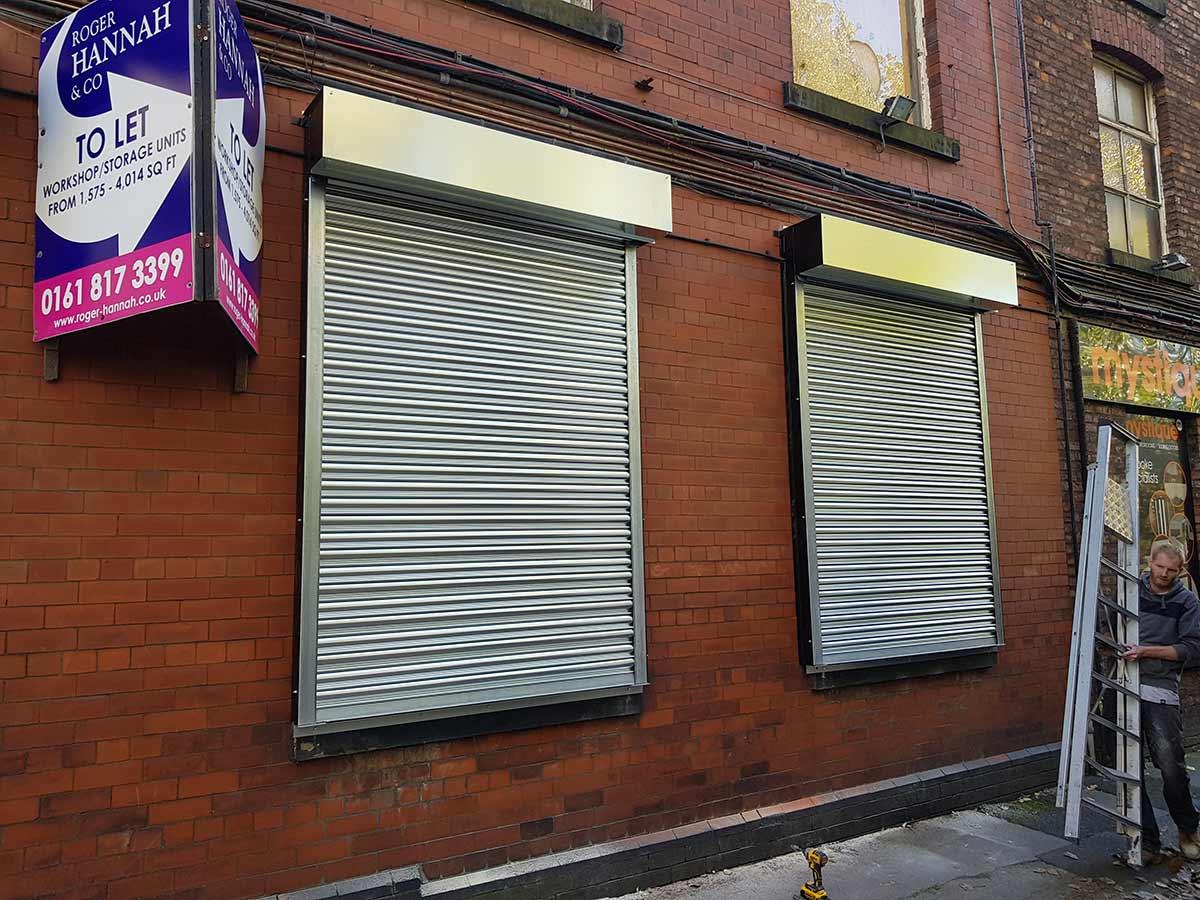 Mill Roller Shutters, Manchester (2)