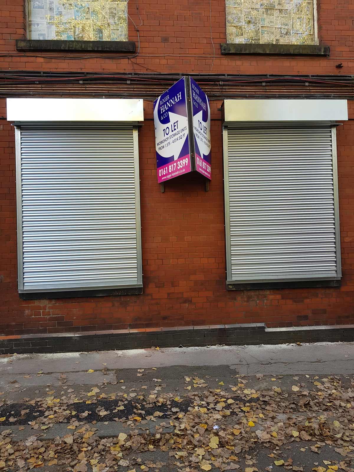 Mill Roller Shutters, Manchester