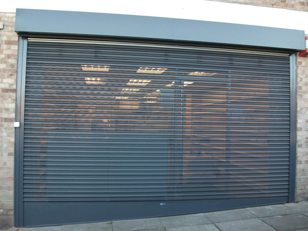 Perforated Roller Shutter