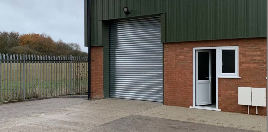 Industrial Insulated Roller Shutters, Oxford