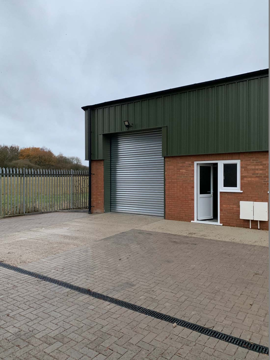 Oxford Kingswood-Industrial Insulated Roller Shutters - Westwood Security Shutters 2