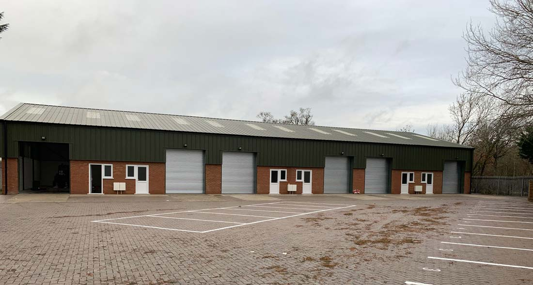 Oxford Industrial Insulated Roller Shutters 1- Westwood Security Shutters
