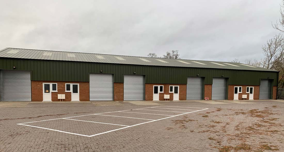 Huddersfield Industrial Insulated Roller Shutters - Westwood Security Shutters