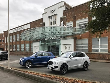 Westwood Security Fit Roller Shutter Security System at Bentley Factory