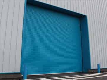 Industrial Insulated 95mm Door