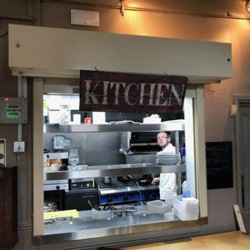 Kitchen Servery Fire Shutter