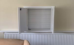 Care Home Fire Shutter