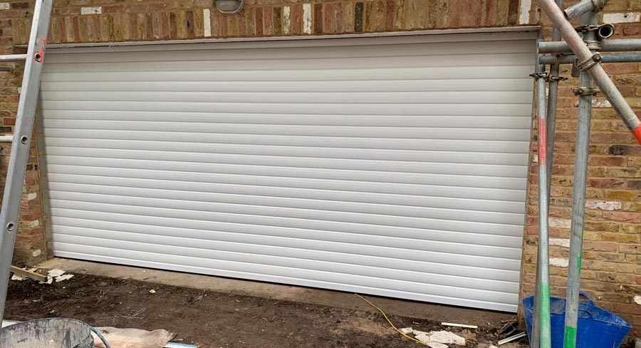 Insulated Lath Garage Roller Shutter