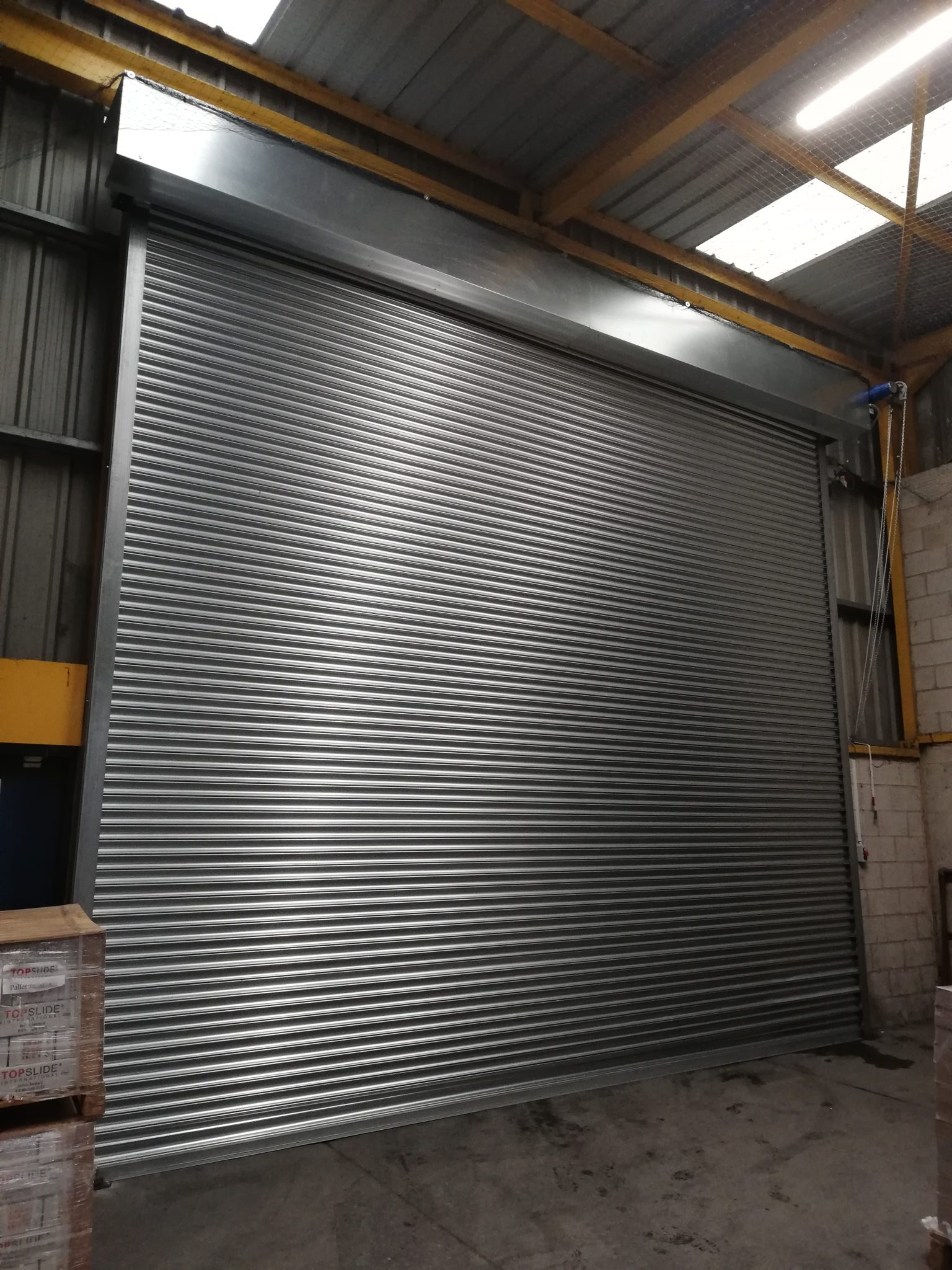 Warehouse Roller Shutter