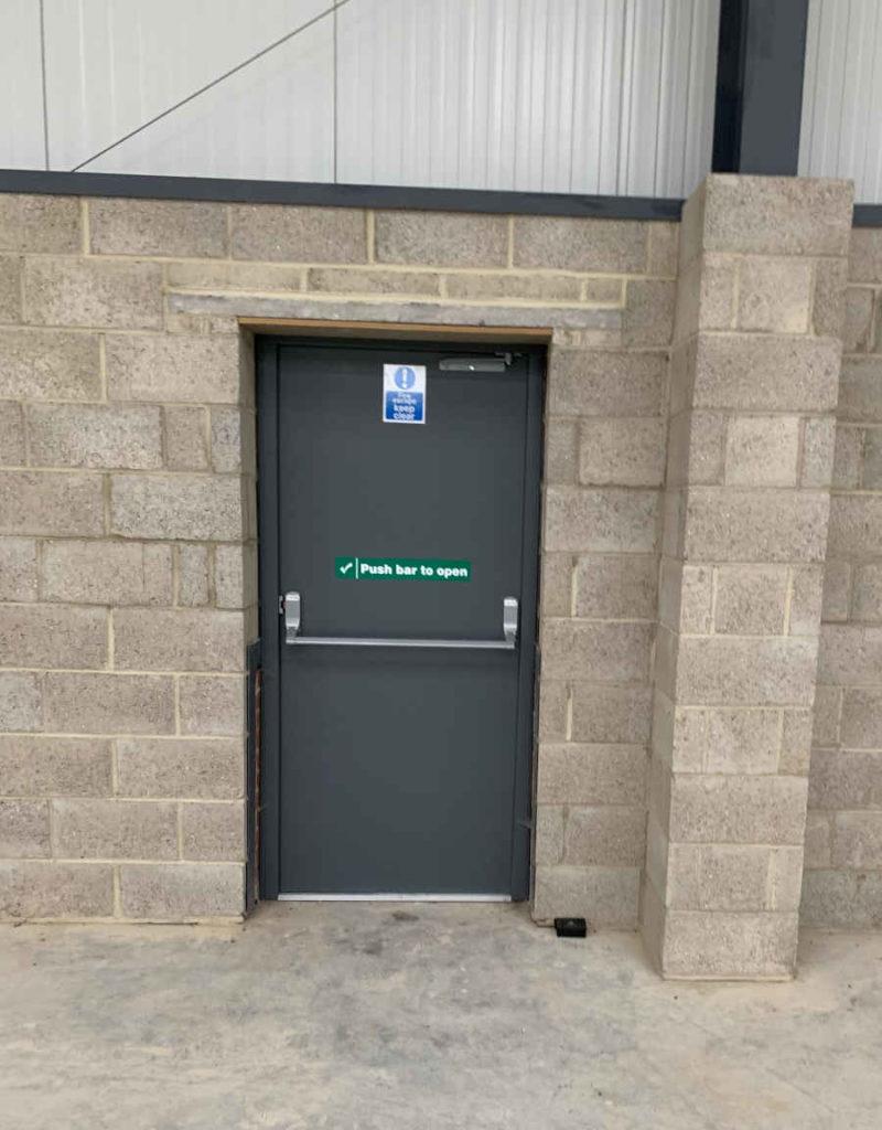 Manchester Steel Door