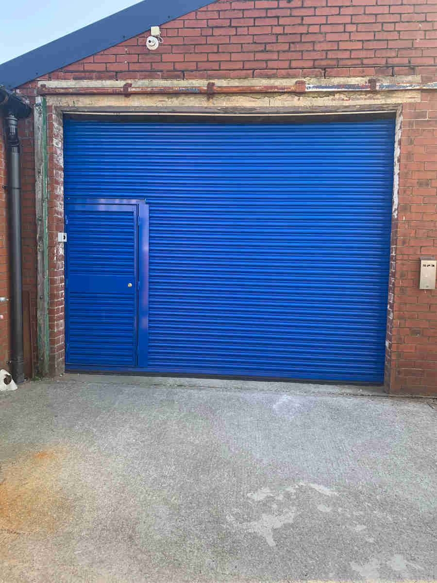 Roller Shutter with Wicket Gate, Manchester