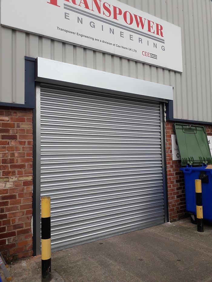 Steel Roller Shutter, Manchester Warehouse