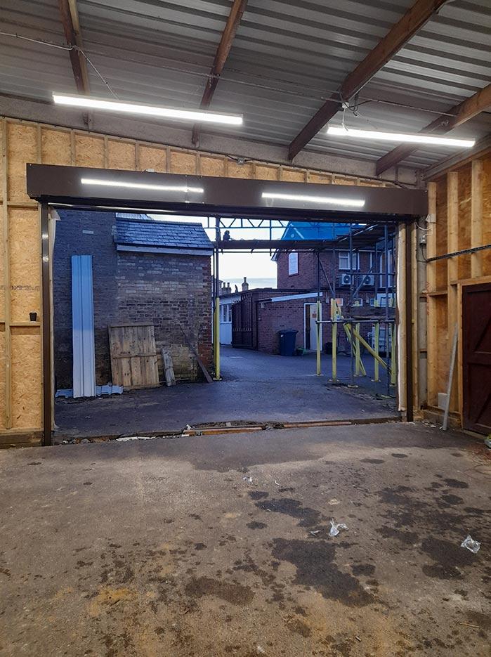 Warehouse Roller Shutter Internal