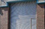Industrial Warehouse Rolller Door With Personnel Door, West Yorkshire
